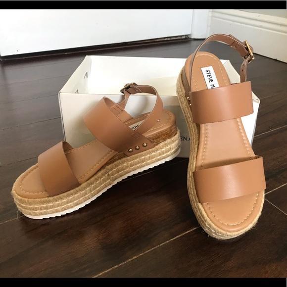 d6b9ec16c7d Steve Madden Catia wedge sandal NWT